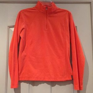 Orange Columbia fleece